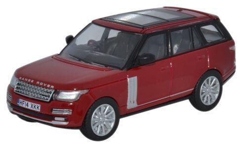 48c2795d7a2a 76RAN003 OXFORD DIECAST RANGE ROVER VOGUE FIRENZE RED